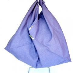 エコバッグ 大 ブルーベリー 川端滝三郎商店  レジカゴ  ショッピングバッグ バッグ 買い物バッグ エコ ECO