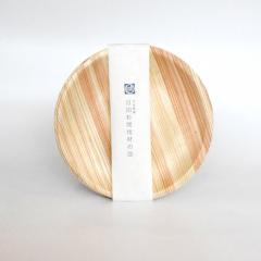 日田杉間伐材の皿 丸型 5枚組