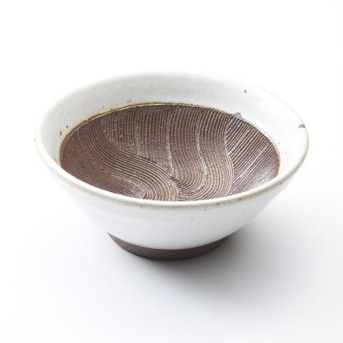 ワラ白波紋櫛目すり鉢5寸 川端滝三郎商店 陶器 すり鉢 すりばち 黒 美濃焼 調理 料理