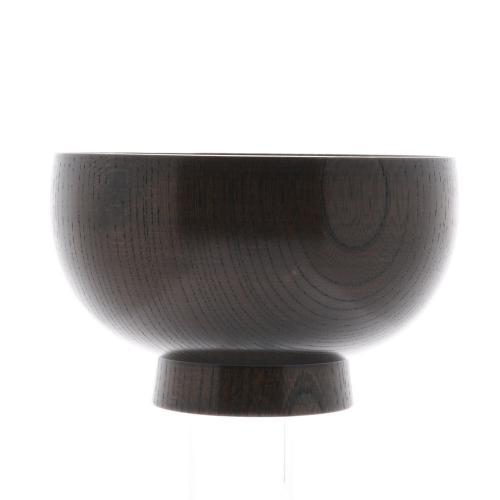 欅3.8布袋汁椀 黒摺