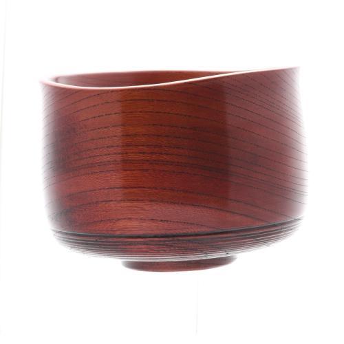 欅 抹茶椀 赤摺