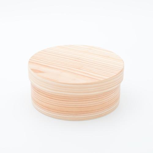 日本の弁当箱 丸型 川端滝三郎商店 木製 弁当箱 ピクニック 杉 わっぱ 行楽
