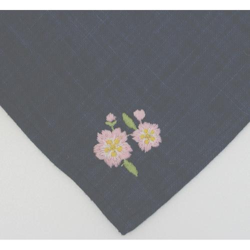 ふくふく刺繍 桜と富士山 50cm