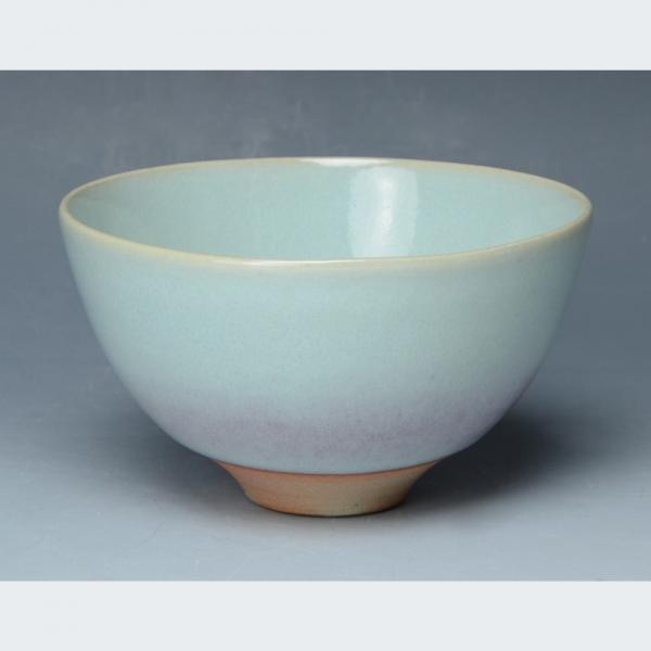 清水焼 月白 飯椀