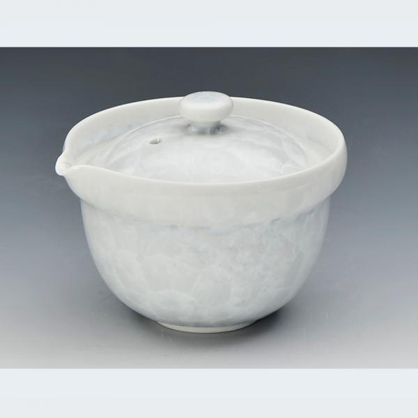 清水焼 花結晶(白) 宝瓶