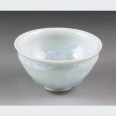 清水焼 花結晶(白) ぐい呑
