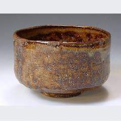 清水焼 銹窯変 抹茶椀