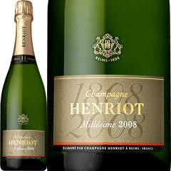 シャンパーニュ・アンリオ・ブリュット・ミレジメ 2008【シャンパン】【正規】【Henriot】【フランス】【750ml】【ミディアムボディ】【辛口】【1~3営業日以内に出荷予定(土日祝除く)】