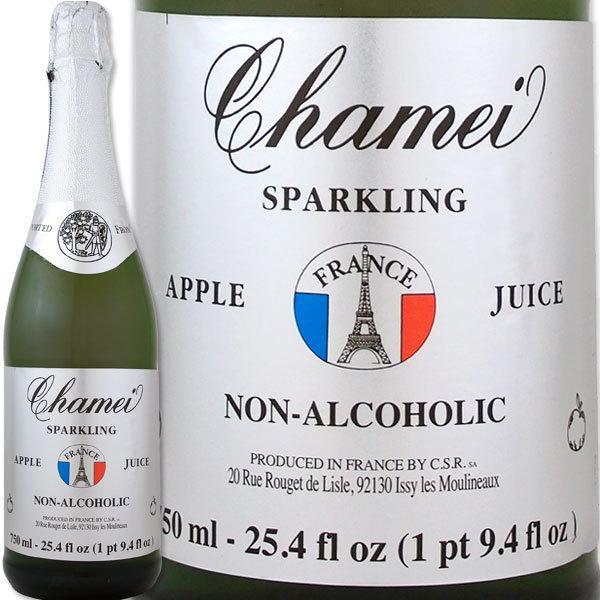 10%OFFクーポン対象商品 ノンアルコール シャンパン シャメイ スパークリングアップルジュースストレート【お待たせしました!! 爽やかな美味しさを堪能できるアップルスパークジュース!!】【1~3営業日以内に出荷予定(土日祝除く)】 クーポンコード:KZUZN2T