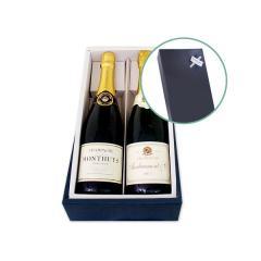 【送料無料】父の日ギフトセット(シャンパン2本セット)【ワインセット】【プレゼント】【ギフト】【父の日ギフト】【スパークリングワイン】【フランス】【1~3営業日以内に出荷予定(土日祝除く)】