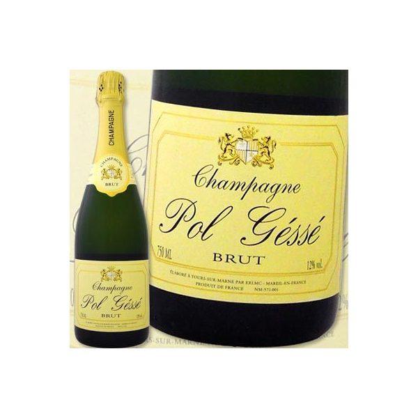 シャンパーニュ・ポル・ジェス・ブリュット【辛口】【シャンパン】【750ml】【Pol Gesse】【G.H.Matel】【1~3営業日以内に出荷予定(土日祝除く)】