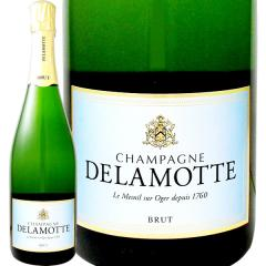 ドゥラモット・ブリュット NV【シャンパン】【750ml】【正規】【箱入り】【Delamotte】【1~3営業日以内に出荷予定(土日祝除く)】【6~9月頃はクール便(送料有無に関わらず+324円)を推奨】