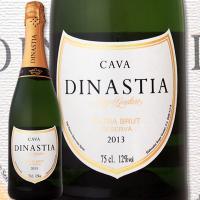 ディナスティア・エクストラ・ブリュット・レゼルヴァ 2013【スペイン】【白スパークリングワイン】【750ml】【ミディアムボディ】【辛口】【1~3営業日以内に出荷予定(土日祝除く)】