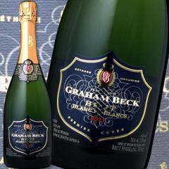 グラハム・ベック・ブラン・ド・ブラン 2013【南アフリカ共和国】【白スパークリングワイン】【750ml】【辛口】【1~3営業日以内に出荷予定(土日祝除く)】
