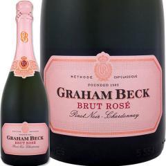 グラハム・ベック・ブリュット・ロゼ【南アフリカ共和国】【ロゼスパークリングワイン】【750ml】【辛口】【Graham Beck】【1~3営業日以内に出荷予定(土日祝除く)】