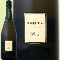 フェルゲッティーナ・フランチャコルタ・ブリュット【イタリア】【白スパークリングワイン】【750ml】【ミディアムボディ】【辛口】【1~3営業日以内に出荷予定(土日祝除く)】