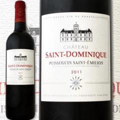 シャトー・サン・ドミニク 2011【フランス 赤ワイン 750ml フルボディ 辛口】【1~3営業日以内に出荷予定(土日祝除く)】