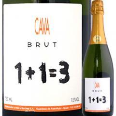 ウ・メス・ウ・ファン・トレス・ブリュット【スペイン】【白スパークリングワイン】【750ml】【ミディアムボディ寄りのライトボディ】【辛口】【1~3営業日以内に出荷予定(土日祝除く)】