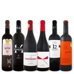 【送料無料】第38弾!すべてパーカー【90点以上】赤ワイン6本セット!【1~3営業日以内に出荷予定(土日祝除く)】【2月14日18時~21日18時までレジにて10%OFFクーポンコード_8TN5LM5_】