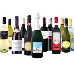 【送料無料】第55弾!スパークリングワイン、赤ワイン、白ワイン!得旨ウルトラバリュー12本セット!【1~3営業日以内に出荷予定(土日祝除く)】