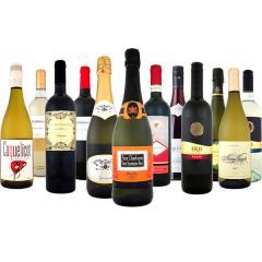 【送料無料】第62弾!スパークリングワイン、赤ワイン、白ワイン!得旨ウルトラバリュー12本セット!【1~3営業日以内に出荷予定(土日祝除く)】【6~9月頃はクール便(送料有無に関わらず+324円)を推奨】