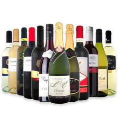 【送料無料】第64弾!スパークリングワイン、赤ワイン、白ワイン!得旨ウルトラバリュー12本セット!【1~3営業日以内に出荷予定(土日祝除く)】【6~9月頃はクール便(送料有無に関わらず+324円)を推奨】