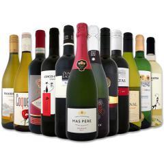 ワイン 【送料無料】第70弾!1本あたり665円(税別)!スパークリングワイン、赤ワイン、白ワイン!得旨ウルトラバリューワインセット 12本!【1~3営業日以内に出荷予定(土日祝除く)】