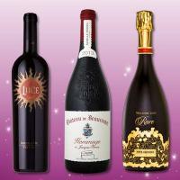 【送料無料】偉大!極上!完璧!誰もがあこがれる超有名すぎるワイン3本セット!!|京橋ワイン ワインセット プレゼント 結婚記念日 お酒 赤ワイン 白ワイン シャンパン シャンパーニュ フルボディ 辛口