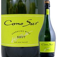 コノスル・ブリュット NV【チリ】【白スパークリングワイン】【750ml】【辛口】【Cono Su】【1~3営業日以内に出荷予定(土日祝除く)】