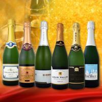 送料無料 第92弾 高級クレマン入り スパークリングワイン6本セット sparkling wine set【グルメMP_GP】