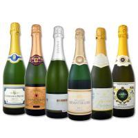 送料無料 第93弾 高級クレマン入り スパークリングワイン6本セット sparkling wine set【グルメMP_GP】