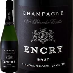 シャンパーニュ・エンクリ・ブリュット・ブラン・ド・ブラン・グランクリュ!【シャンパン】【750ml】【レコルタン】【Encry】【1~3営業日以内に出荷予定(土日祝除く)】