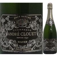 アンドレ・クルエ・ブリュット・ナチュレ・シルバー・ラベル【シャンパン】【750ml】【正規】【Ande Clouet】【1~3営業日以内に出荷予定(土日祝除く)】