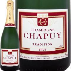 シャンパーニュ・シャピュイ・ブリュット・トラディション【評価誌91点】【Champagne Chapuy】【1~3営業日以内に出荷予定(土日祝除く)】