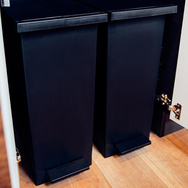 KEYUCA(ケユカ) WEB限定 arrots ダストボックス ゴミ箱 27L ブラック