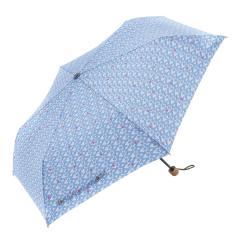 KEYUCA(ケユカ) 折畳傘 晴雨兼用 レイングラス ブルー
