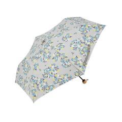 KEYUCA(ケユカ) 折畳傘 晴雨兼用 ハーブ グレー II