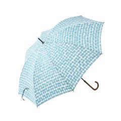 KEYUCA(ケユカ) 長傘 晴雨兼用 スクラッチドット ターコイズブルー