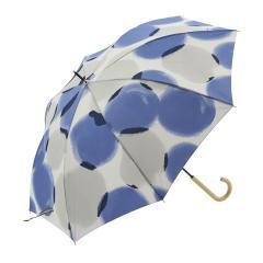 KEYUCA(ケユカ) 長傘 晴雨兼用 パドー ネイビーブルー