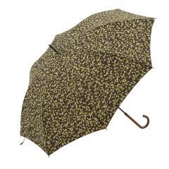 KEYUCA(ケユカ) 長傘 晴雨兼用 テラゾーイエロー
