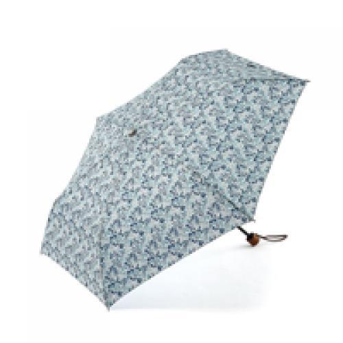KEYUCA(ケユカ) 折畳傘 ミニフラワーII ネイビーブルー