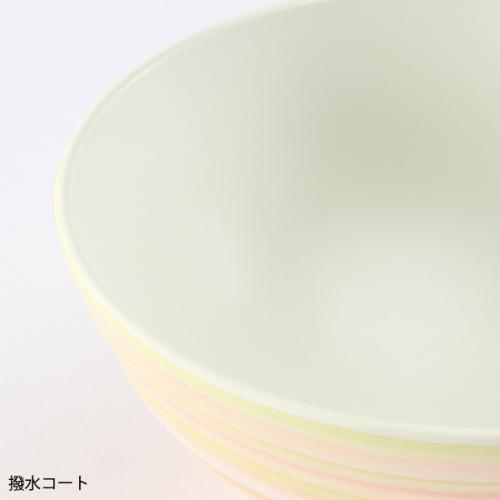 KEYUCA(ケユカ) しましま子ども用飯椀 ブルー