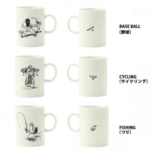 KEYUCA(ケユカ) PLAY MUG プレイマグカップ Soccer(サッカー)