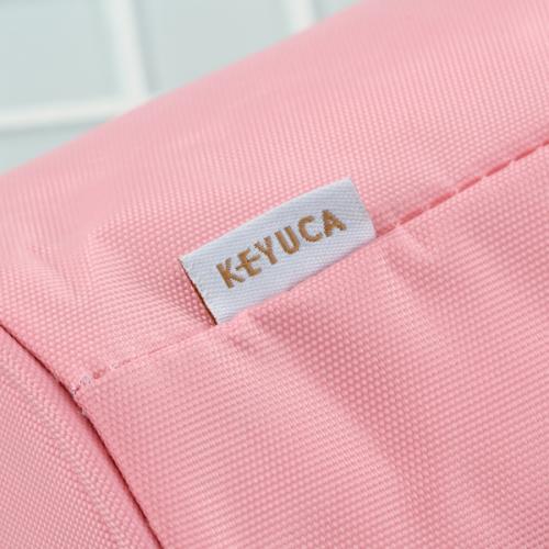 KEYUCA(ケユカ) タテ型 ランチバッグ ブラウン