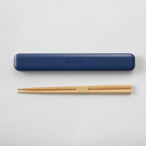 KEYUCA(ケユカ) ランチ箸&箸ケース ピンク