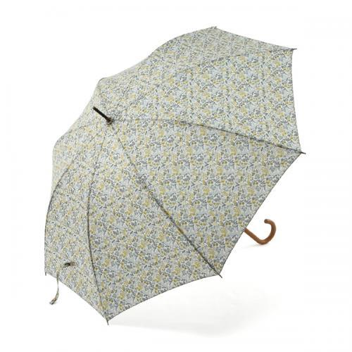 KEYUCA(ケユカ) 長傘 ミニフラワーII ネイビーブルー