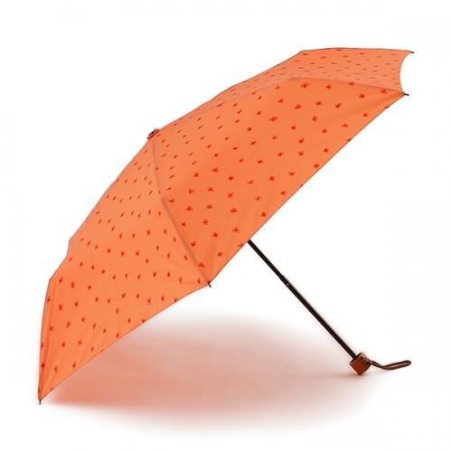 KEYUCA(ケユカ) 折畳傘 晴雨兼用フラワードット ターコイズブルー
