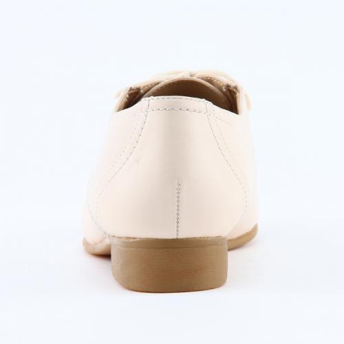 KEYUCA(ケユカ) Fm Sigl 本革シューズ アイボリー 24.5cm