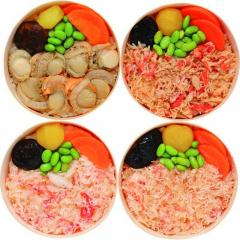 札幌バルナバフーズ 海鮮わっぱ飯詰合せ