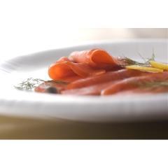 【配送料込】紅鮭スモークサーモン【札幌バルナバフーズ】